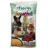 Fiory бисквиты для грызунов с ягодами, 30 гр.