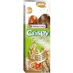 Versele-Laga палочки для крыс и мышей с попкорном и орехами 2х55 гр.