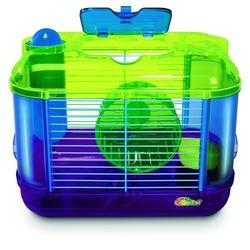IPTS Клетка Mini для грызунов с игровым комплексом