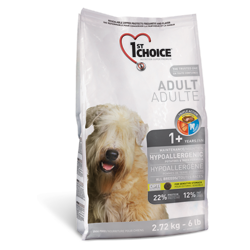 1st Choice Adult для взрослых собак гипоаллергенный с уткой и картофелем