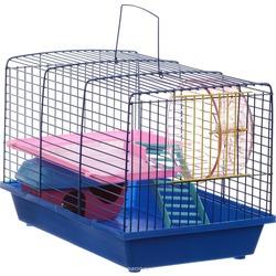 Зоомарк клетка для грызунов 2 этажа, с комплектом аксессуаров, артикул 125