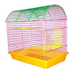 Зоомарк клетка полукруглая 2-х этажная для грызунов, артикул 112Ж