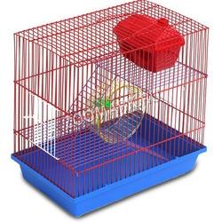 Зоомарк клетка 3 этажа с аксессуарами, для грызунов, артикул 135
