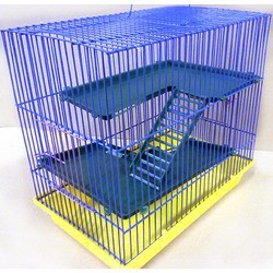 Зоомарк клетка 3 этажа, для грызунов, артикул 130