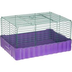 Зоомарк клетка для кролика, 60х40х26 см см, артикул 620