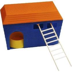 Дарэлл домик для грызунов с миской и лесенкой