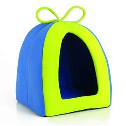 IPTS Домик-тент для грызунов, сине-зеленый
