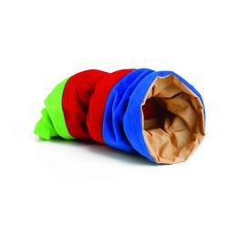IPTS Туннель для грызунов плюшевый цветной