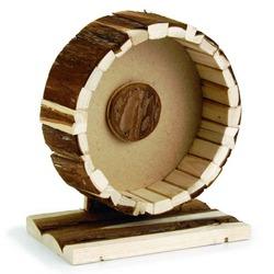 IPTS Колесо для хомяка на подставке деревянное 20 см