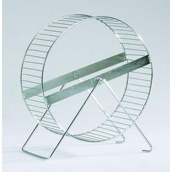 IPTS Колесо для хомяка на подставке металлическое 23 см