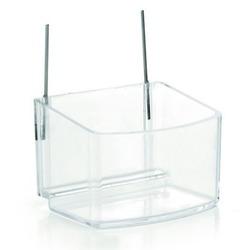 IPTS Кормушка для морской свинки пластиковая, прозрачная, 220 мл