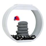Аквариум AA-Aquariums Deco O Mini UPG, 10 литров, цвет белый