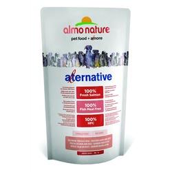 Almo Nature Alternative корм (50% мяса) со свежим лососем и рисом для собак карликовых и мелких пород, Alternative Fresh Salmon and Rice XS-S