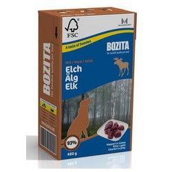 Bozita кусочки в желе с мясом лося, 480 гр.