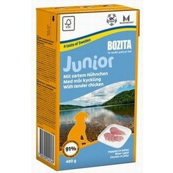 Bozita Junior кусочки в желе с курицей, 480 гр.