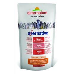 Almo Nature Alternative корм (50% мяса) со свежим цыпленком и рисом для собак карликовых и мелких пород, Alternative Fresh Chicken and Rice XS-S