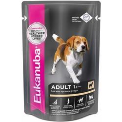 Eukanuba паучи корм для собак с ягненком в соусе 100 г