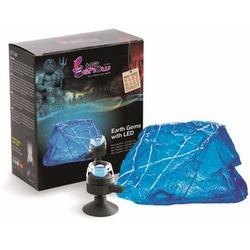 H2SHOW декорация Синий Сапфир + синяя подсветка