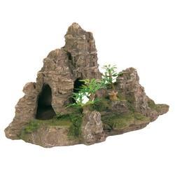 Trixie Скалы с пещерой и растениями