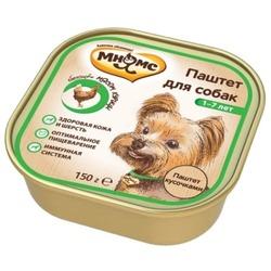 Мнямс консервы для взрослых собак с курицей 150 г