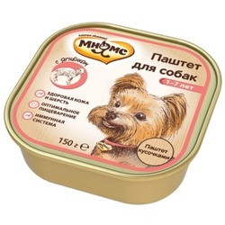 Мнямс консервы для взрослых собак с ягненком 150 г