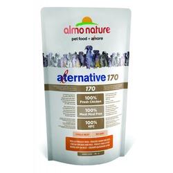 Almo Nature Alternative корм (75% мяса) со свежим цыпленком и рисом для собак карликовых и мелких пород, Alternative 170 Chicken and Rice XS-S