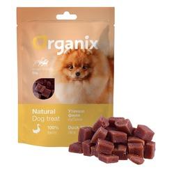 Organix Лакомство для собак малых пород «Утиные кубики», 50 гр.