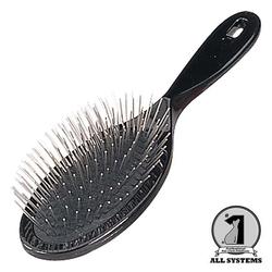 1 All Systems Pin brush щетка овальная с пластиковой ручкой зубцы 27 мм