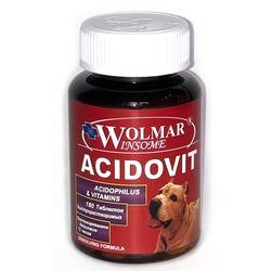WOLMAR WINSOME® ACIDOVIT комбинация ацидофильных бактерии и значительного количества двенадцати основных водо- и жирорастворимых витаминов.