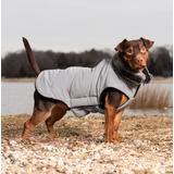 Куртка светоотражающая зимняя с меховым воротником Tamarack Meteor Dog Gone Smart, цвет серый