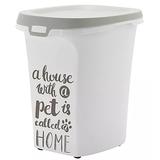 Moderna контейнер для корма на колесиках Pet Wisdom, 38 литров (13-15 кг корма)
