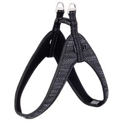 Rogz шлейка мягкая разъемная Utility, Fast-Fit Harness, цвет черный