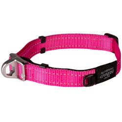 Rogz ошейник Utility с системой безопасности Quick Release Magnetic Collar, цвет розовый