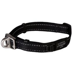 Rogz ошейник Utility с системой безопасности Quick Release Magnetic Collar, цвет черный