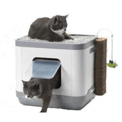 Moderna Cat Concept 4 в 1 (туалет, лежанка, дразнилка, когтеточка) 47х39х43 см