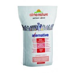 Almo Nature Alternative корм (50% мяса) со свежим лососем и рисом для собак средних и крупных пород, Alternative Fresh Salmon and Rice M-L