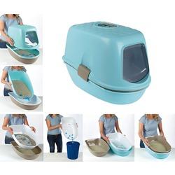 Stefanplast Furba закрытый туалет с функцией быстрой уборки с просеивателем, 39x59x42.7 см