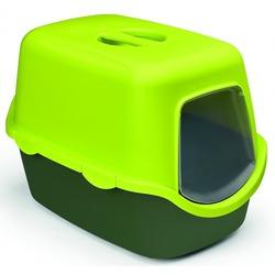 Stefanplast туалет закрытый Cathy Trendy Colour, салатово-зеленый, 56х40х40 см