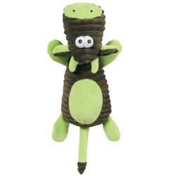 Zolux игрушка плюшевая «Корова» с пищалкой, 25см, зеленая