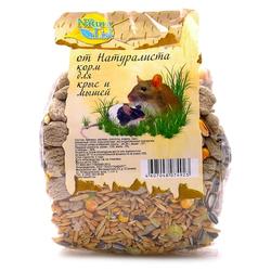 Naturalist Корм для крыс и мышек основной рацион, 450 гр.