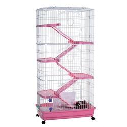 Клетка Kredo для шиншилл и хорьков, 6 этажей
