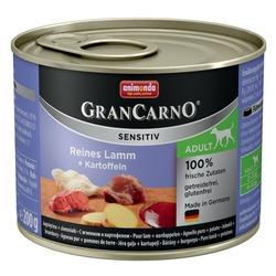 GranCarno Sensitiv c ягненком и картофелем