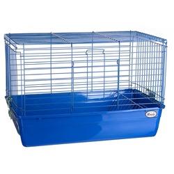 Клетка Kredo для кроликов с решеткой для сена