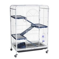 Клетка Kredo для шиншилл и хорьков, 4 этажа