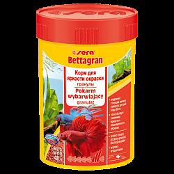 Sera Bettagran корм для усиления яркости окраски петушков, а также всех видов рыб, кормящихся в средних слоях воды.