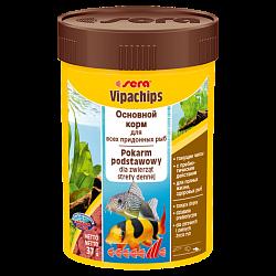 Sera Vipachips корм для всех видов рыб, ориентированных на придонное кормление.