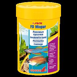 Sera FD Mixpur смесь сублимированных мотыля, трубочника, артемии и дафнии