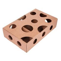 Антицарапки картонный лабиринт для лакомства