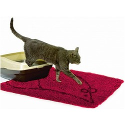 Dog Gone Smart Супервпитывающий коврик для кошек, 58,5х40,5 см, цвет красный