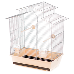 Inter-Zoo клетка для птиц IZA II ZINC, размер 51х30х60,5 см